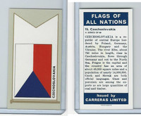 C18-0 Carreras, Flags All Nations, 1960, #15 Czechoslovakia
