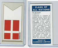 C18-0 Carreras, Flags All Nations, 1960, #16 Denmark