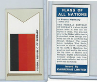 C18-0 Carreras, Flags All Nations, 1960, #19 Germany
