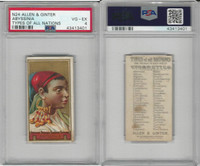 N24 Allen & Ginter, Types of all Nations, 1889, Abyssinia, PSA 4 VGEX