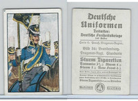 S132-1 Strum, German Uniforms, 1935, #34 Brandenburg Dragoner