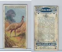 P72-115 Player, Natural History, 1924, #19 Emeu