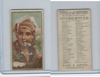 N24 Allen & Ginter, Types of all Nations, 1889, Holland