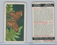 FC34-9 Brook Bond, Butterflies North America, 1965, #1 Pearly Eye