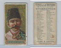 N24 Allen & Ginter, Types of all Nations, 1889, Persia