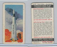 FC34-11 Brook Bond, Transportation Ages, 1967, #48 Apollo Space Rocket