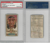 N24 Allen & Ginter, Types of all Nations, 1889, Arabia, PSA 1