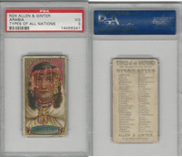 N24 Allen & Ginter, Types of all Nations, 1889, Arabia, PSA 3 VG