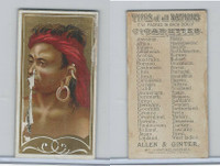 N24 Allen & Ginter, Types of all Nations, 1889, Borneo