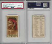 N24 Allen & Ginter, Types of all Nations, 1889, Borneo, PSA 4 VGEX