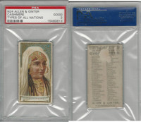 N24 Allen & Ginter, Types of all Nations, 1889, Cashmere, PSA 2 Good