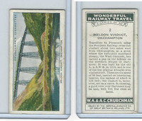 C82-92 Churchman, Won. Rail Travel, 1937, #2 Meldon Viaduct, Okehampton