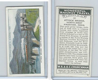 C82-92 Churchman, Won. Rail Travel, 1937, #10 Attock Bridge, NW Frontier, India