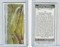 C82-92 Churchman, Won. Rail Travel, 1937, #17 Peiping-Suiyuan Railway, China