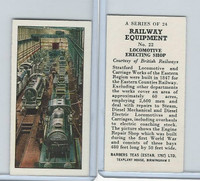 B0-0 Barbers Tea, Railway Equipment, 1958, #22 Locomotive Erecting Shop
