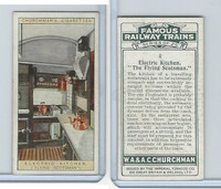C82-48 Churchman, Famous Railway Trains, 1929, #4 Flying Scotsman