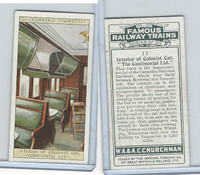 C82-48 Churchman, Famous Railway Trains, 1929, #11 Continental