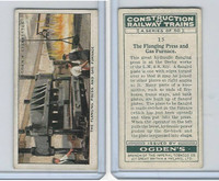 O2-140 Ogdens, Construction Trains, 1930, #15 Flanging Press and Gas Furnace