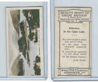 C48-22 Cavanders, Beauty Great Britain, 1927, #2 Killarney.  In the Upper Lake.