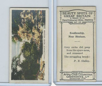 C48-22 Cavanders, Beauty Great Britain, 1927, #10 Swallowship.  Near Hexham
