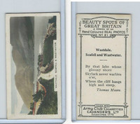 C48-22 Cavanders, Beauty Great Britain, 1927, #21 Wastdale.  Scafell