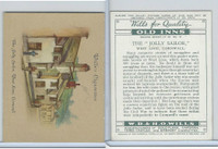W62-162a Wills, Old Inns, 2nd, 1939, #18 Jolly Sailor, West Looe, Cornwall