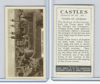 C132-81 Cope, Castles, 1939, #1 Tower of London
