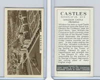 C132-81 Cope, Castles, 1939, #6 Windsor Castle,  Berkshire