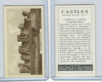 C132-81 Cope, Castles, 1939, #7 Caerphilly Castle, Glamorganshire