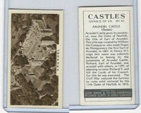 C132-81 Cope, Castles, 1939, #10 Arundel Castle, Sussex