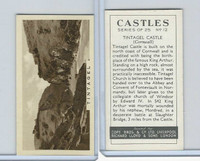 C132-81 Cope, Castles, 1939, #12 Tintagel Castle, Cornwall