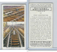 W62-170 Wills, Railway Equipment, 1938, #17 Point Construction