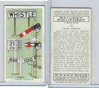 W62-170 Wills, Railway Equipment, 1938, #18 Track Signals