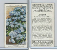 W62-140 Wills, Garden Flowers, 1939, #1 Ageratum