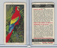 FC34-8 Brooke Bond, Tropical Birds, 1964, #11 Scarlet Macaw