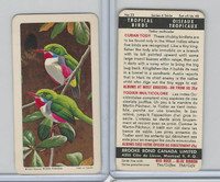 FC34-8 Brooke Bond, Tropical Birds, 1964, #22 Cuban Tody