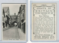 P18-75c Pattreiouex, Sights Britain 3rd, 1937, #25 Totnes, High Street