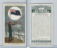 W62-135 Wills, Flags of the Empire, A, 1926, #4 Blue Ensign