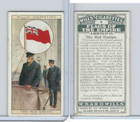 W62-135 Wills, Flags of the Empire, A, 1926, #5 Red Ensign