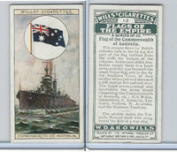 W62-135 Wills, Flags of the Empire, A, 1926, #12 Commonwealth Australia