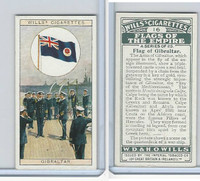 W62-135 Wills, Flags of the Empire, A, 1926, #16 Gibraltar