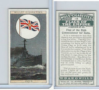 W62-135 Wills, Flags of the Empire, A, 1926, #18 High Com. for India