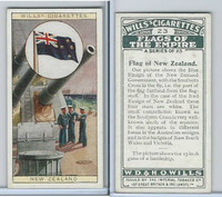W62-135 Wills, Flags of the Empire, A, 1926, #23 New Zealand