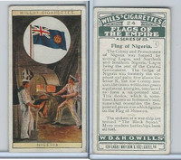 W62-135 Wills, Flags of the Empire, A, 1926, #24 Nigeria