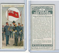 W62-135 Wills, Flags of the Empire, A, 1926, #25 Southern Rhod.