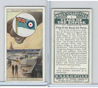 W62-135b Wills, Flags of the Empire, 2nd, 1929, #1 Royal Air Force