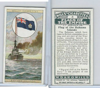 W62-135b Wills, Flags of the Empire, 2nd, 1929, #3 Bahama Islands