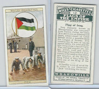W62-135b Wills, Flags of the Empire, 2nd, 1929, #12 Iraq