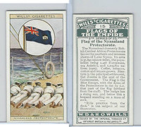 W62-135b Wills, Flags of the Empire, 2nd, 1929, #15 Nyasaland