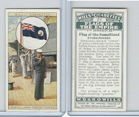 W62-135b Wills, Flags of the Empire, 2nd, 1929, #21 Somaliland
